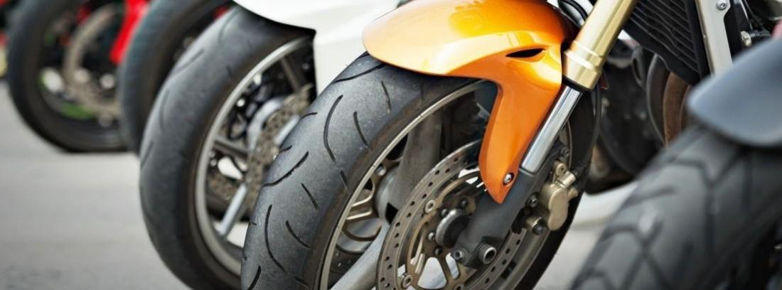 Tipos de neumáticos de moto