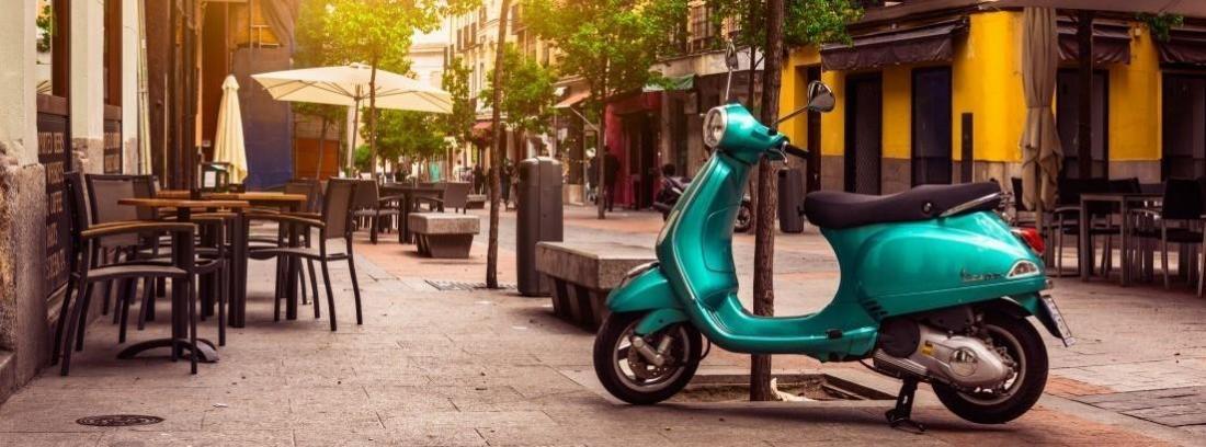 Tipos de neumáticos para scooter