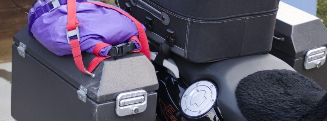 Almacenamiento moto