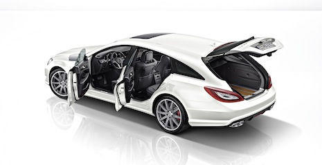 Mercedes-Benz CLS 63 AMG 4Matic Shooting Brake