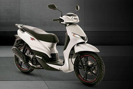 Peugeot Tweet scooter blanca