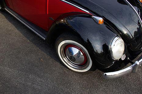 Volkswagen Beetle antiguo carrocería