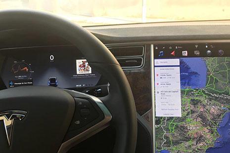 Tesla coche eléctrico Marc Gasol