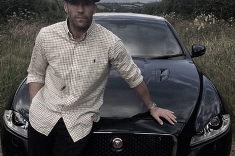Jason Statham coche Jaguar XJR