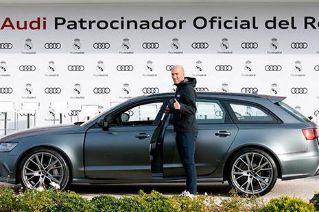 Coche de Zidane Audi RS6