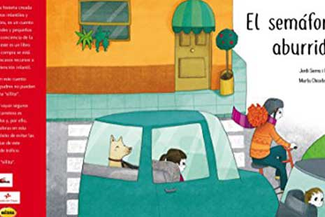 portada del libro el semáforo aburrido