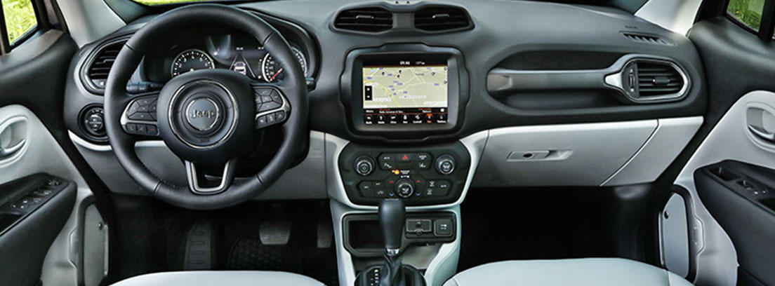 Interior del Jeep Renegade 2019