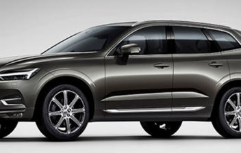 Volvo XC60 de color gris metalizado