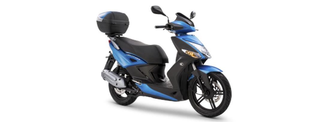 Moto KYMCO Agility City 125 color azul