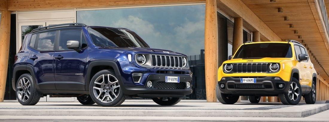 Dos Jeep Renegade