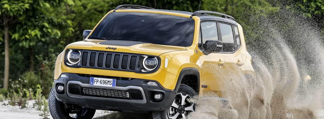Jeep Renegade en camino
