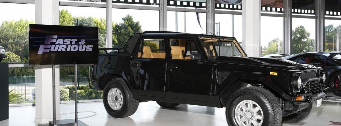 El primer SUV de Lamborghini, el LM002, que apareció en la película Fast & Furious 4