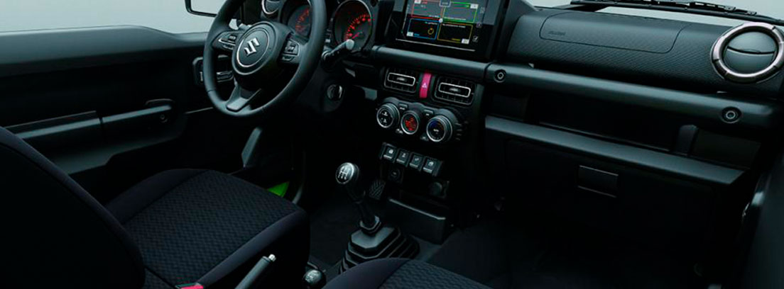 Interior del nuevo Suzuki Jimny 2018
