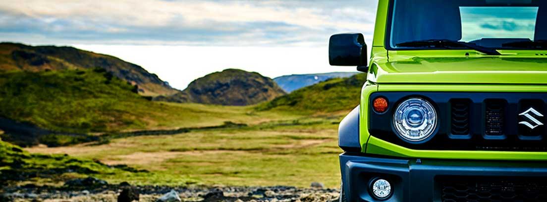 Vista frontal del nuevo Suzuki Jimny