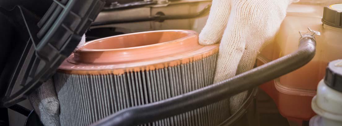 Distintos tipos de filtro de aire acondicionado para coches