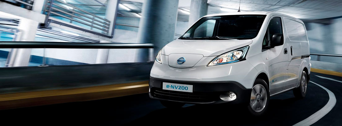 Furgoneta e-NV200 de Nissan