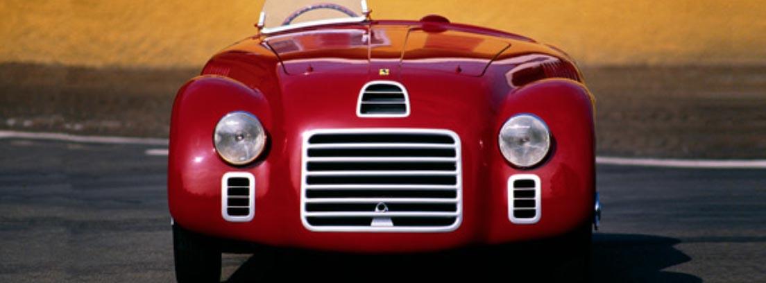 Frontal del Ferrari 125 S