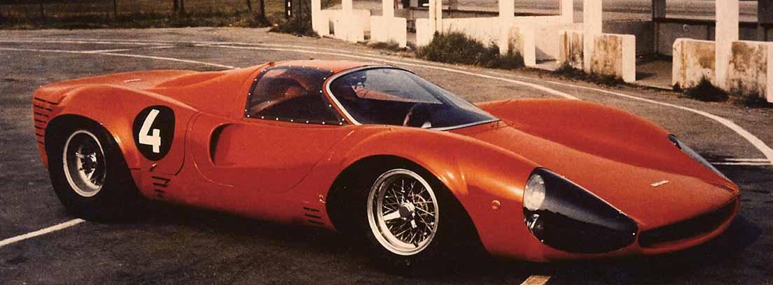 vista lateral de Ferrari Thomassima