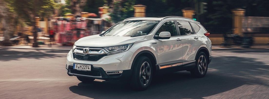 Honda CR-V Hybrid. Gran confort y poco ruido