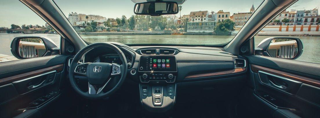 Salpicadero del Honda CR-V Hybrid