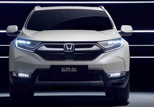 Vista frontal del Honda CR-V Híbrido