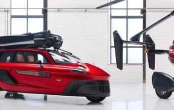 Dos unidades del primer coche volador del mundo