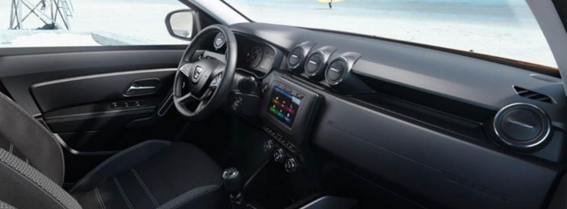 Interior del Dacia Duster 2018