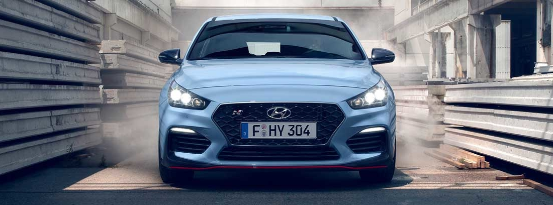 frontal del Hyundai i30 N Performance