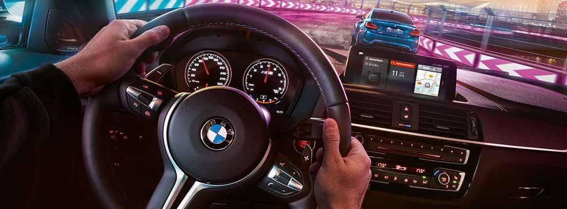 interior del BMW M2 Competition