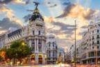 Calle central de Madrid afectada por el nuevo protocolo de contaminación