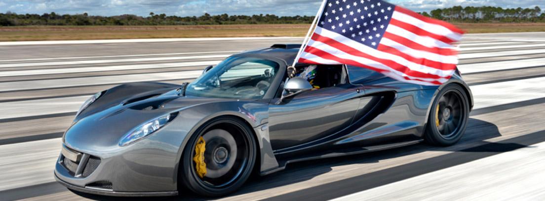 Hennessey Venom GT uno de los coches más rápidos del mundo