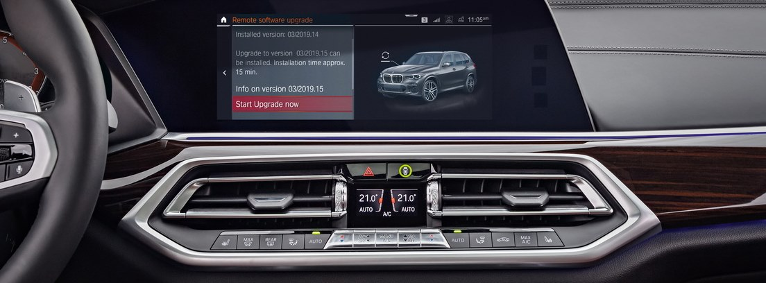 Pantalla del nuevo BMW X5