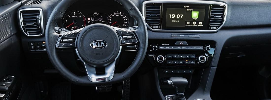 Interior del nuevo Kia Sportage