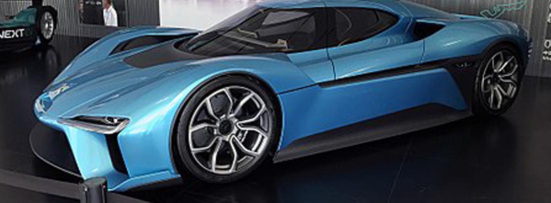 NIO EP9 en color azul