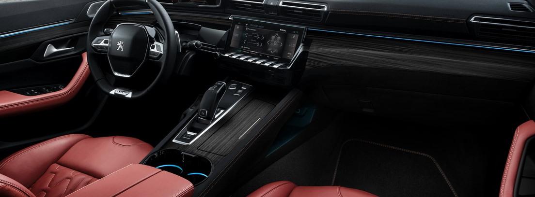 Interior del Peugeot 508 SW