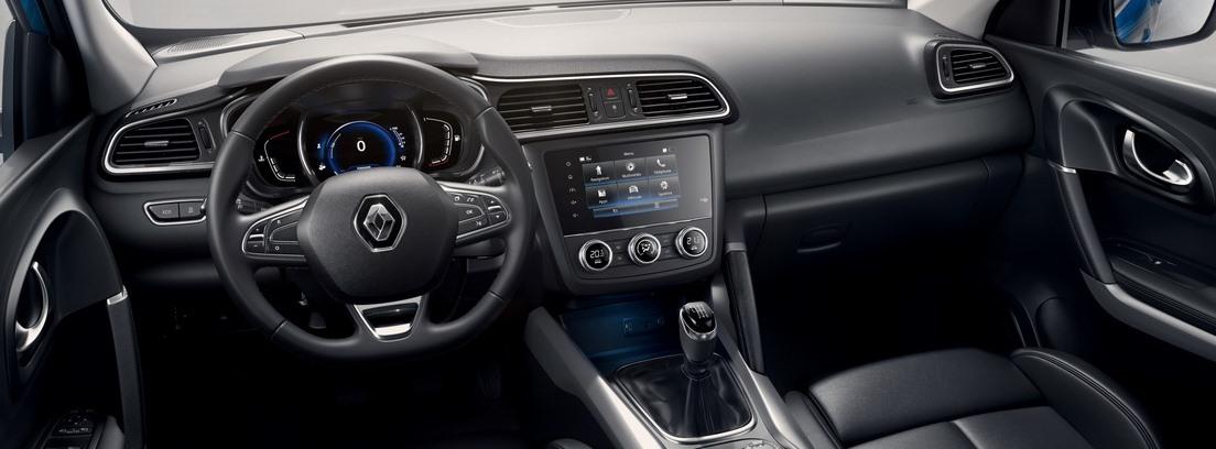Interior del Renault Kadjar 2019
