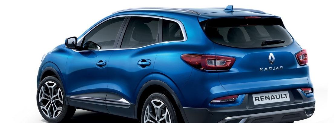 Visión trasera Renault Kadjar MY19
