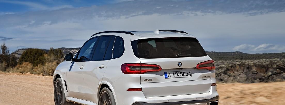 Visión trasera del BMW X5