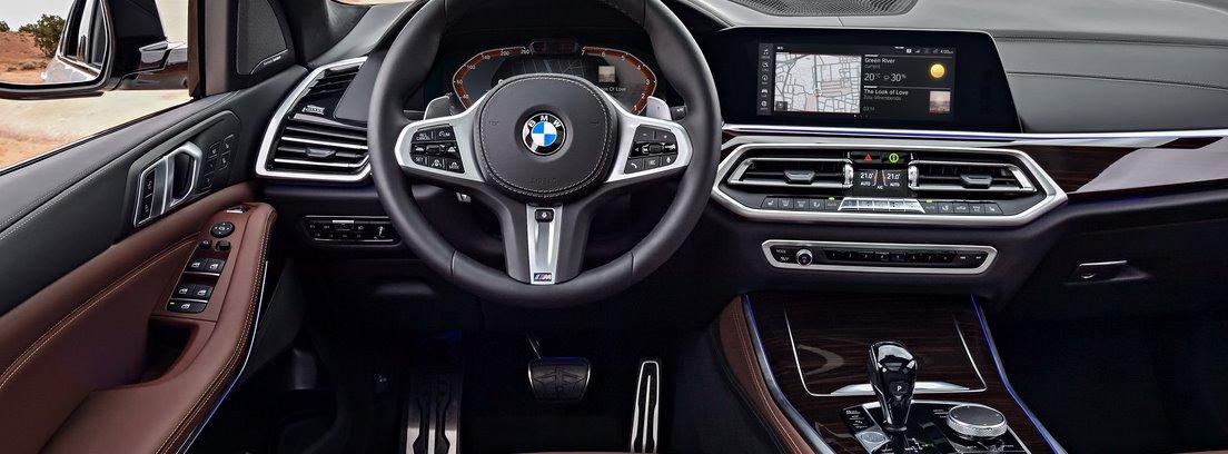 Salpicadero del BMW X5