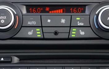 sistema de aire acondicionado de un coche