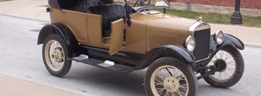 Ford T uno de los coches clásicos americanos más famosos