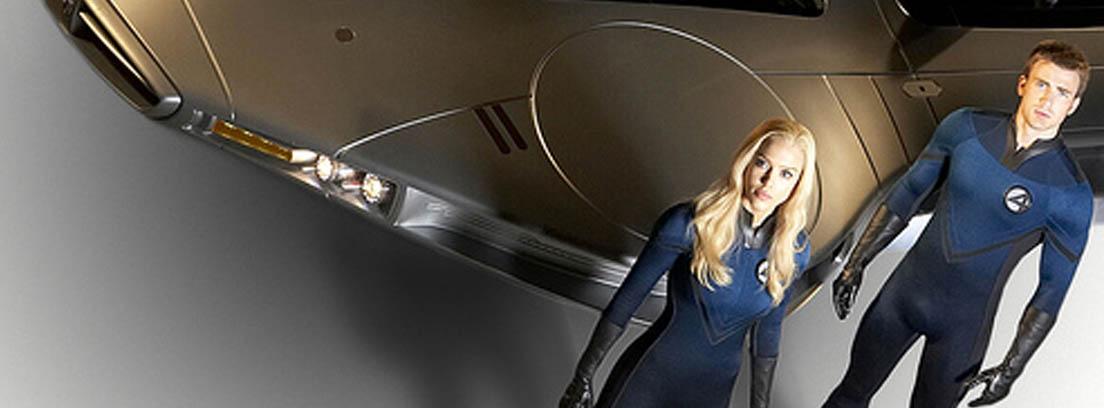 El coche volador de los Cuatro Fantásticos