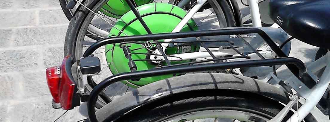 Ruedas de bicicletas eléctricas