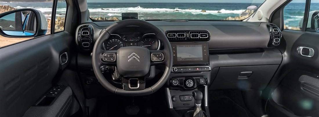 Interior del Citroën C3 Aircross