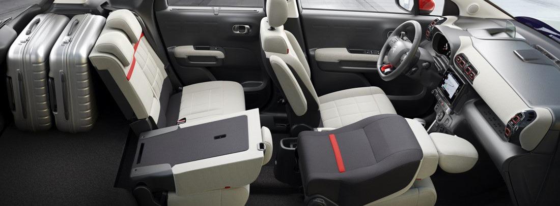 Citroën C3 Aircross, con un interior modulable