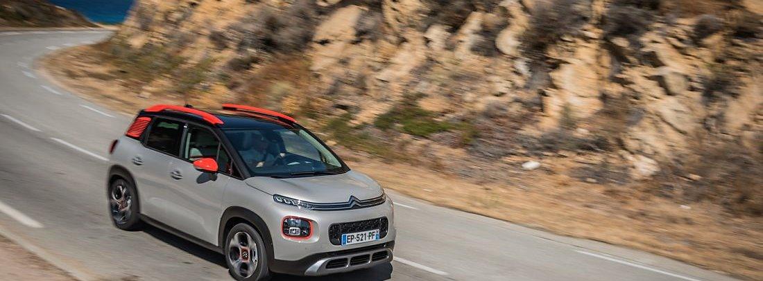 Citroën C3 Aircross en carretera