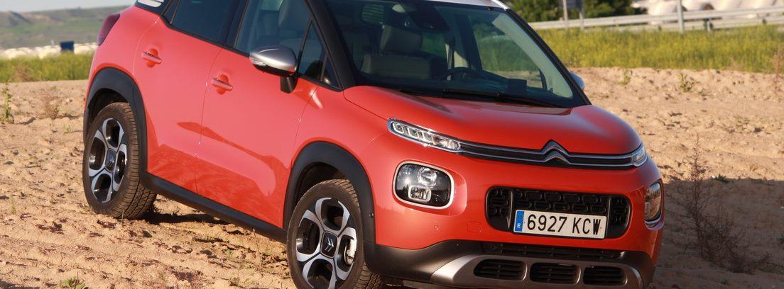Citroën C3 Aircross en el campo