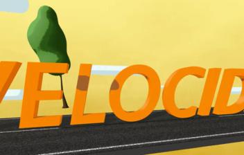 Logotipo de la campaña de la DGT sobre velocidad