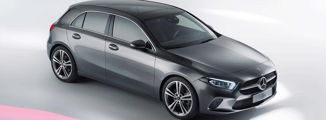exterior del Mercedes Clase A en gris