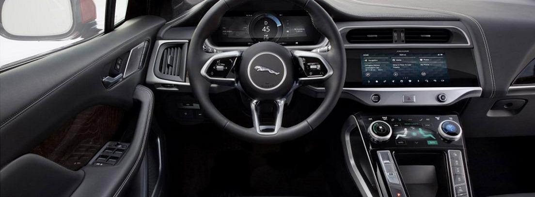 Salpicadero del Jaguar I-Pace